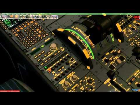 Azur Air Line Prepar3D V3  Paris LFPG Nice LFMN avec Grond service