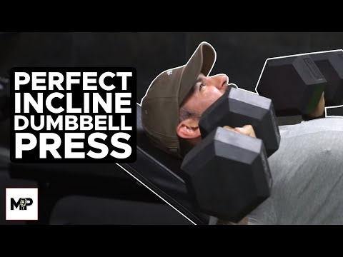 How To Incline Dumbbell Press The Right Way! (GROW YOUR CHEST)