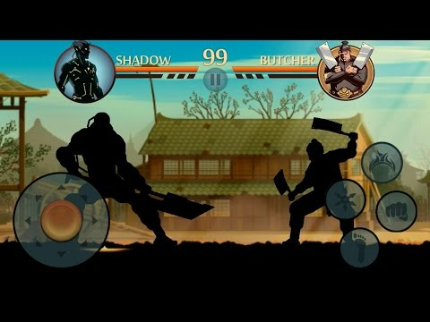 Shadow Fight 2 Titan vs Butcher