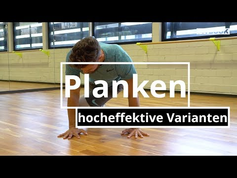 Hocheffektiv Planken I Core Starken I Varianten I Intensiv Youtube