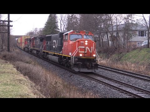 CN Canadian National Railway Belleville Ontario Canada Part 2
