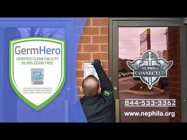 NE Phila Connected is Germ Hero Verified  ✅