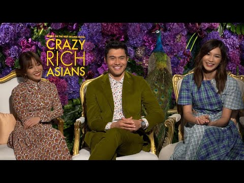 Crazy Rich Asians: Henry Golding, Constance Wu and Gemma Chan (Full Interview)