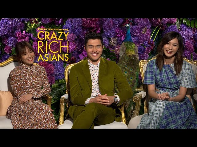 Crazy Rich Asians\: Henry Golding, Constance Wu and Gemma Chan (Full Interview)