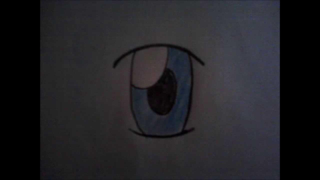 Copia de tutorial como dibujar ojos anime sencillos para - Ojos ahumados para principiantes ...