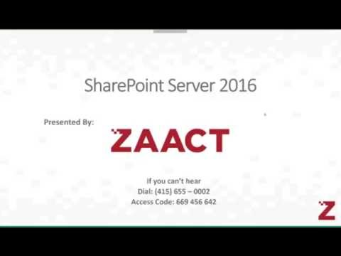 ZAACT - Server 2016 Administration and Architecture