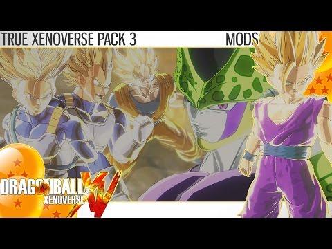 Dragon Ball Xenoverse - True Xenoverse Pack 3 (Mods)  