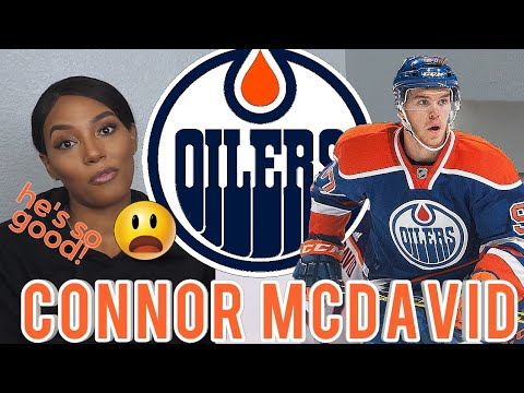 Clueless New NHL Fan Reacts to Connor McDavid Ice Hockey Highlights