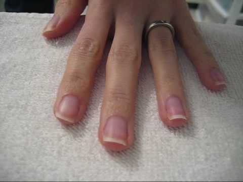 Natural At Home Manicure Youtube
