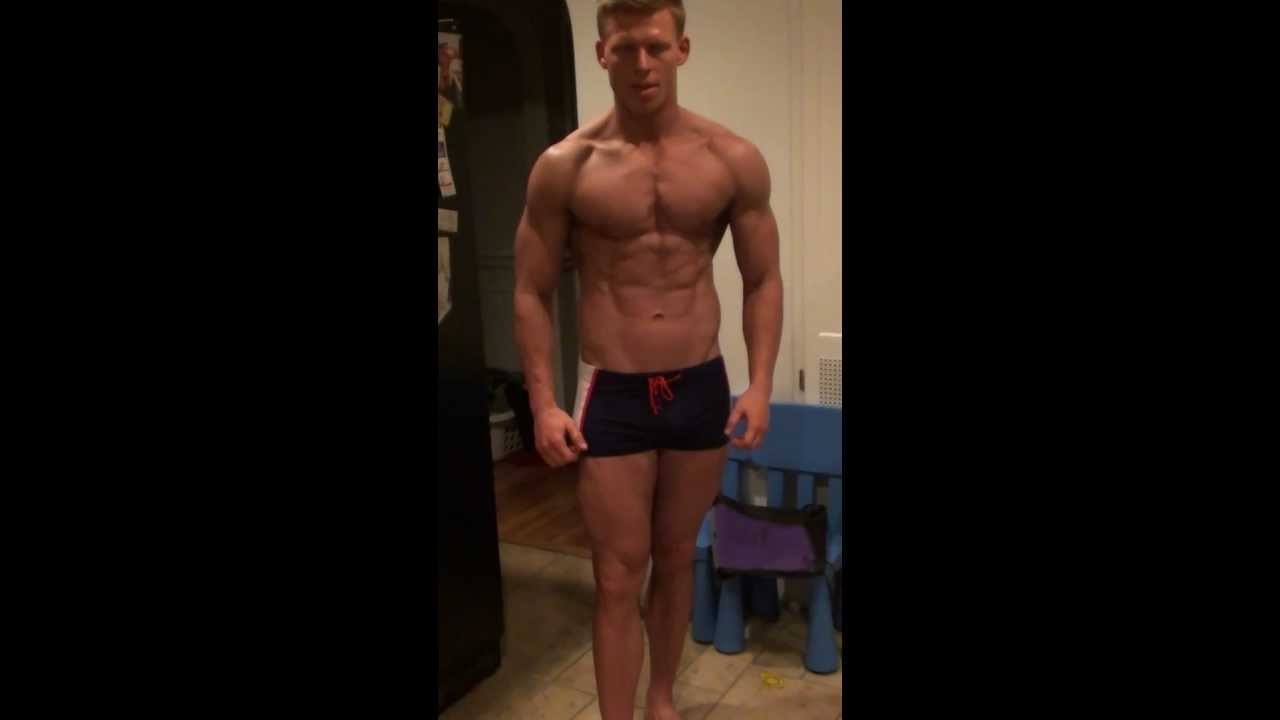 Nick Olsen nick olsen 13 days out trying to pose lol - youtube