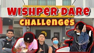 Wishper Dare Challenges (Iban Version)