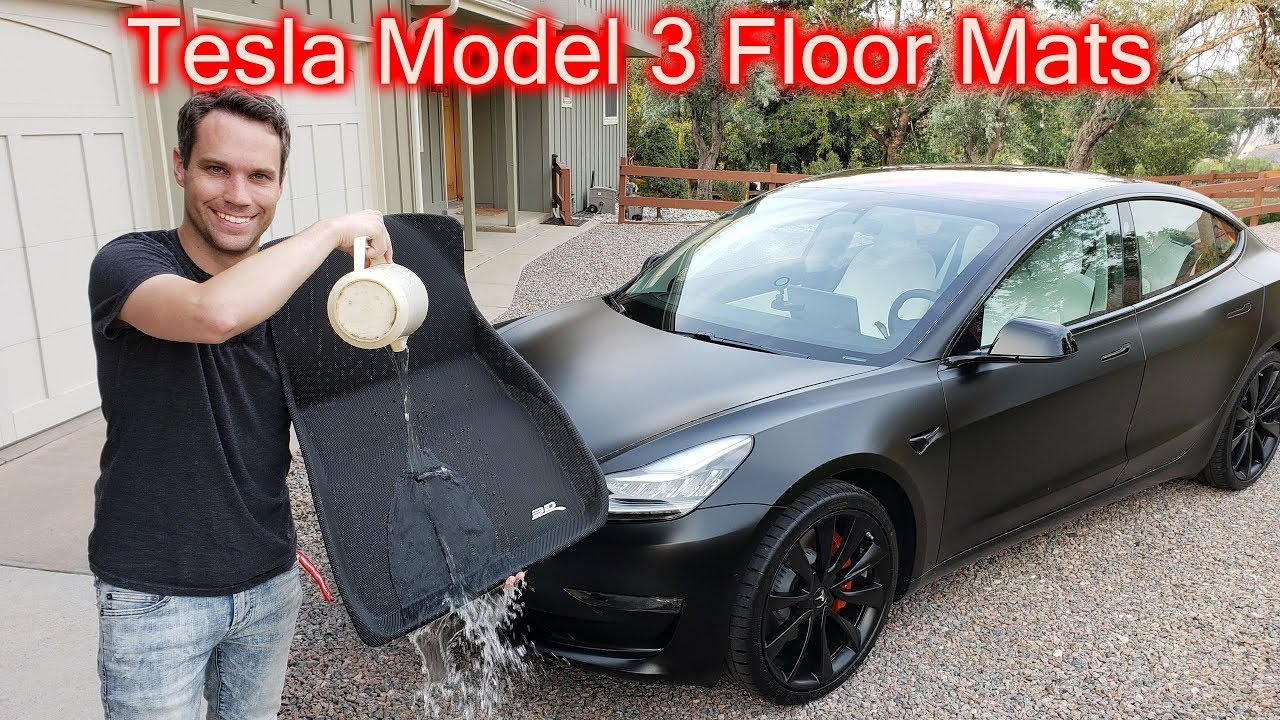 Tesla Model 3 All Weather Floor Mats Review Youtube