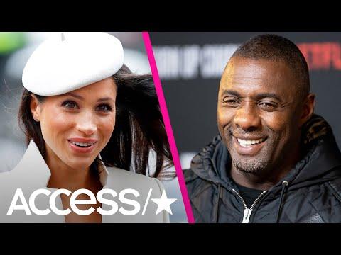 Meghan Markle Sent Idris Elba Playlist Of Songs For DJ Gig