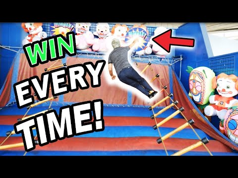 How To WIN Ladder Climb Carnival Game EVERY Time! (100% WIN Rate) ArcadeJackpotPro
