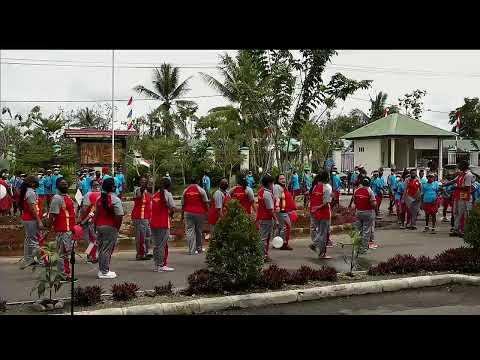 Sekolah Asrama Taruna Papua Timika Kegiatan SATP memperingati HUT Republik Indonesia ke-75