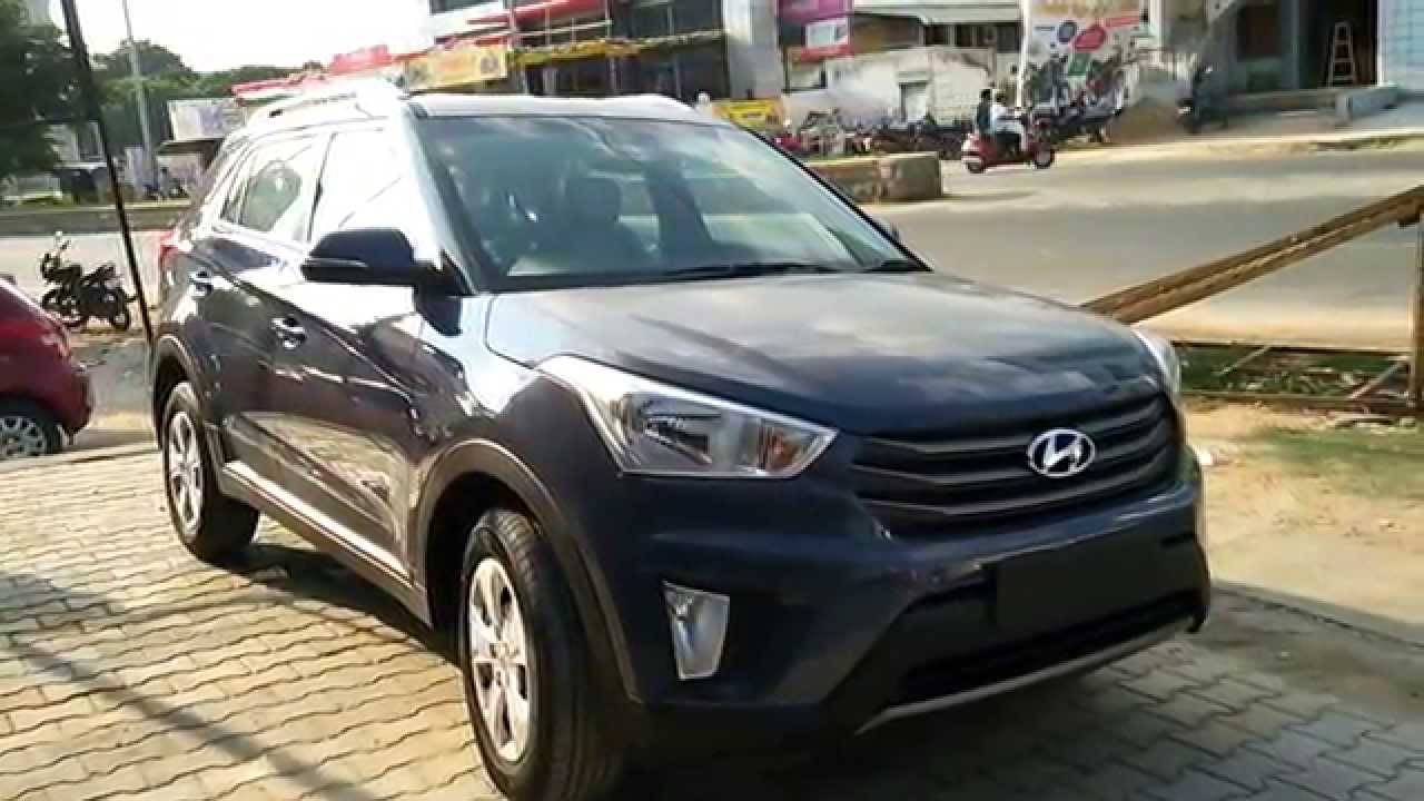 Hyundai Creta Mystic Blue 1 6 S Petrol Colours Youtube