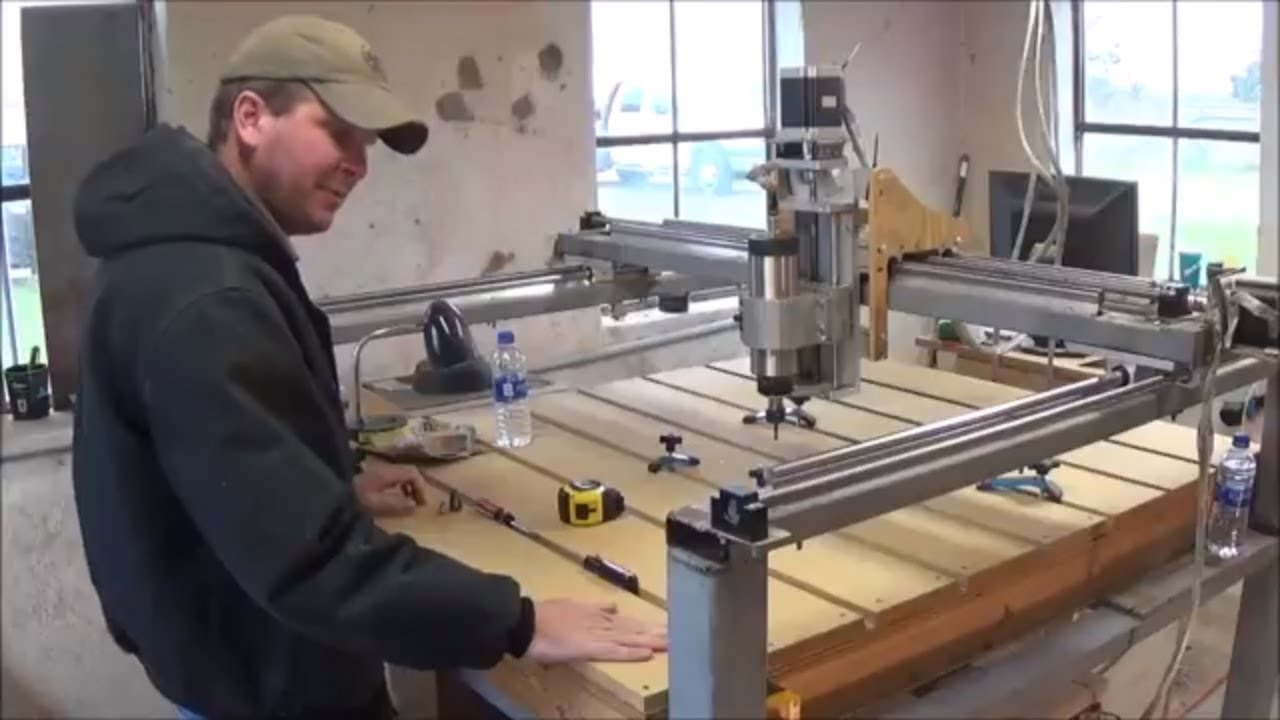 My DIY CNC Router build - YouTube