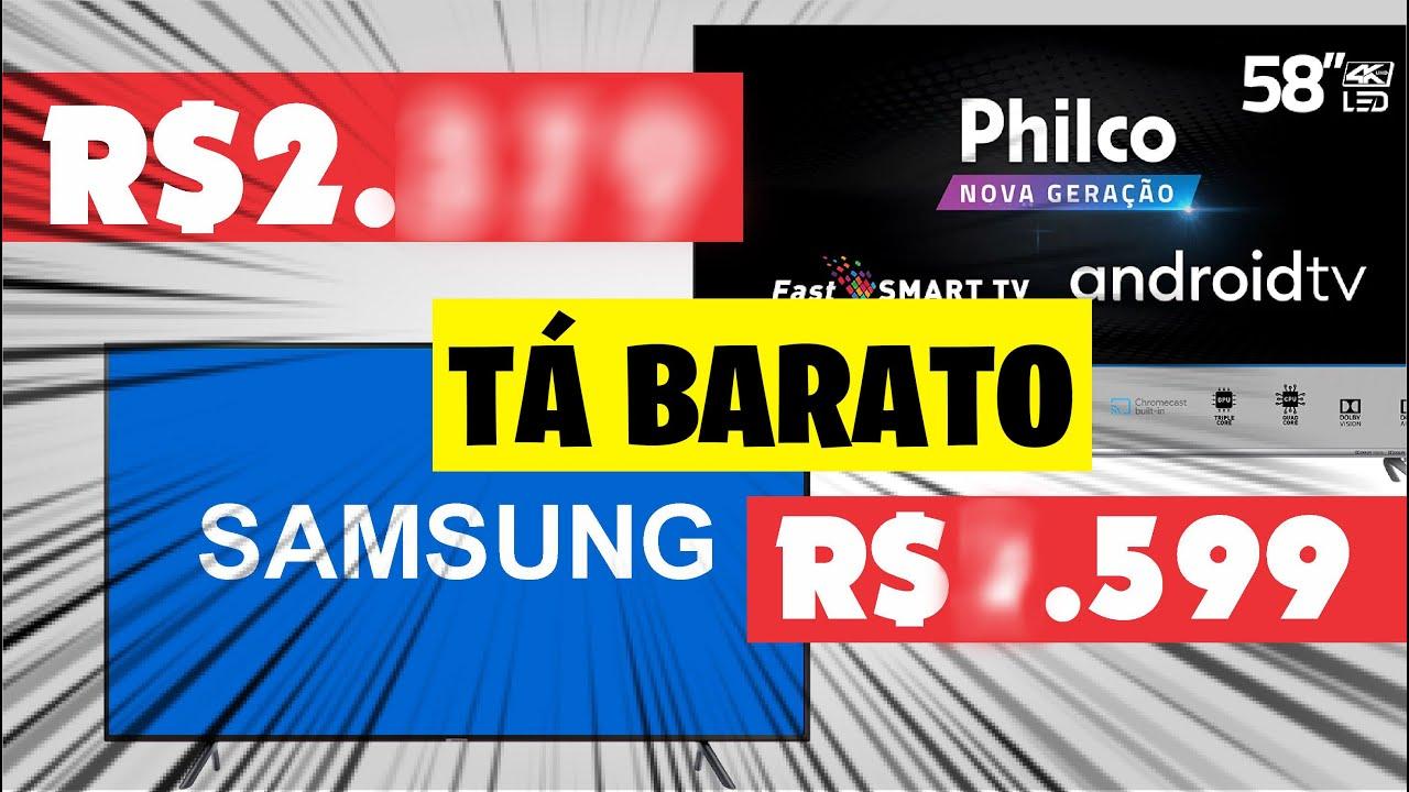 4 Smart tvs que foram campeãs em preços na Black Friday