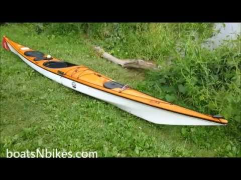 Whitewater Kayaks For Sale >> P&H Bahiya Fiberglass Sea Kayak Review and Sea Trial - YouTube