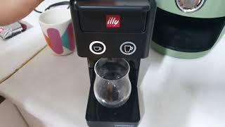 일리야 커피머신기 에스프레소 만들기