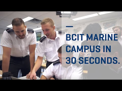 BCIT Marine Campus in 30 seconds