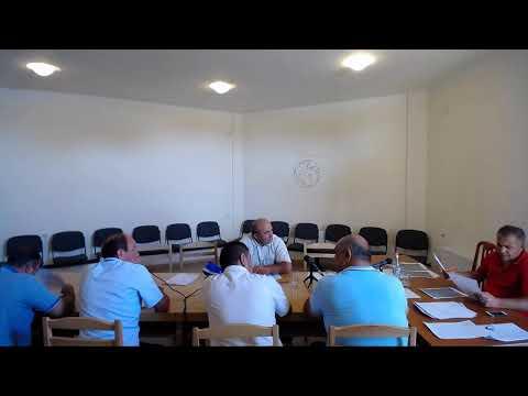 Մարմաշեն համայնքի ավագանու նիստի 18-ի նիստը