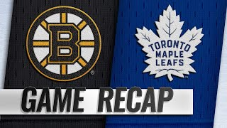 Kuraly, Rask power Bruins past Maple Leafs, 3-2