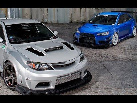EVO X VS IMPREZA WRX/STI(Hatchback) -||- Versus Series - YouTube