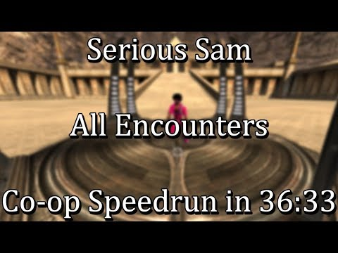 Serious Sam Classics: Revolution - All Encounters Co-op Speedrun in 36:33 by Cyprys & ThaRixer [WR]