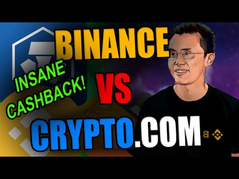INSANE 8% CASHBACK WITH CRYPTO.COM CARDS | Binance Releases Binance Visa Cards | Binance Vs Cdc
