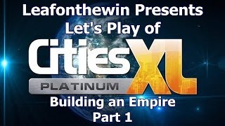 Cities XL Platinum Let