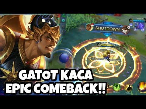 Gussion KEOK! Gatot Kaca Skill Rework Jadi Sakit!! | Mobile Legends Indonesia