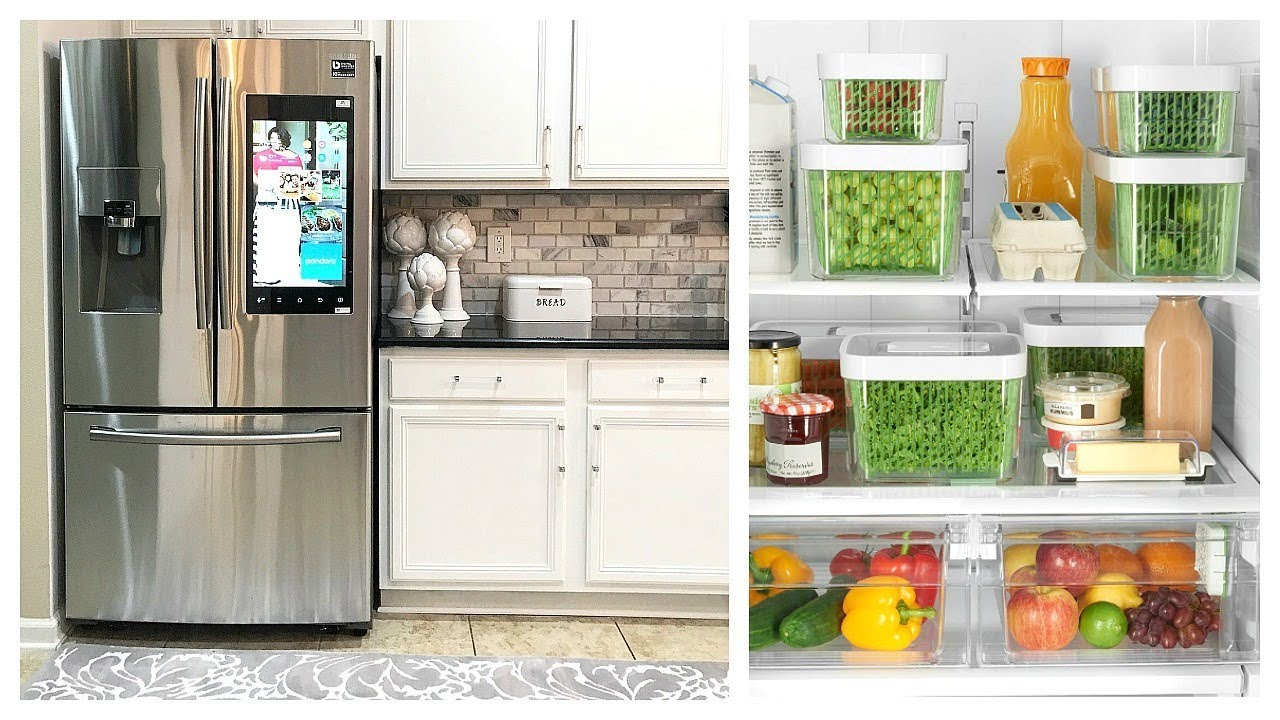 Home Design Ideas Pictures: NEW! My New Smart Fridge Samsung Family Hub & Fridge