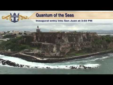 Quantum of the Seas: Inaugural San Juan, Puerto Rico Arrival & Departure (with NCL Gem) on Dec. 4