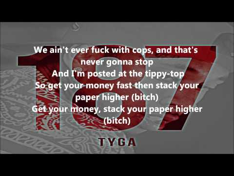 Tyga  Swimming Pools LYRICS 187