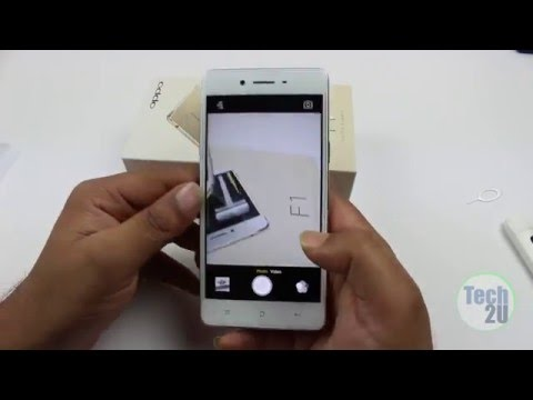 OPPO F1 Unboxing and Hands On