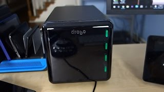 Drobo Gen 3 4-bay Storage Array with 4 4TB Drives!