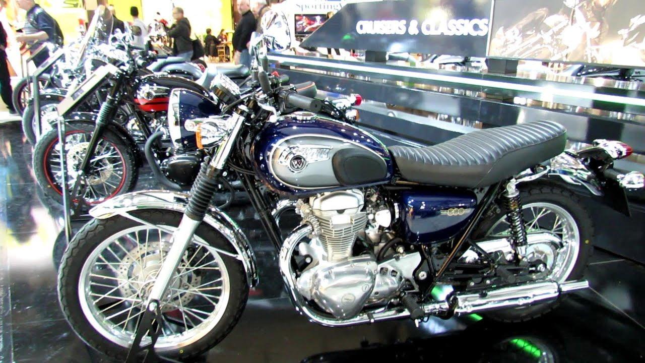 2014 Kawasaki W800 Walkaround 2013 Eicma Milan Motorcycle