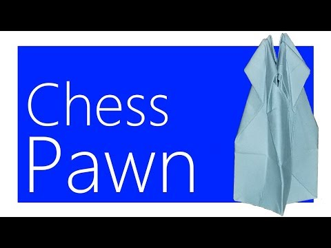 Chess Pawn Origami Tutorial (Joseph Wu)