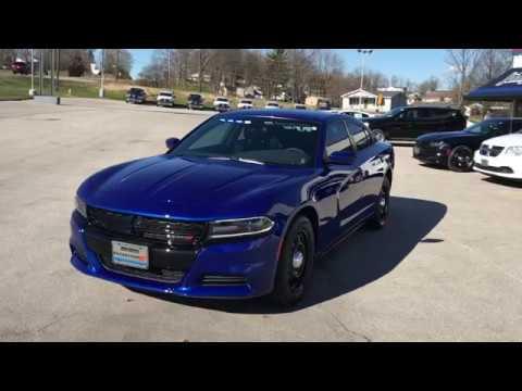 2018 Clark County Sheriff Dept 's Blue Dodge Charger   John Jones Police Pursuit Vehicles - YouTube