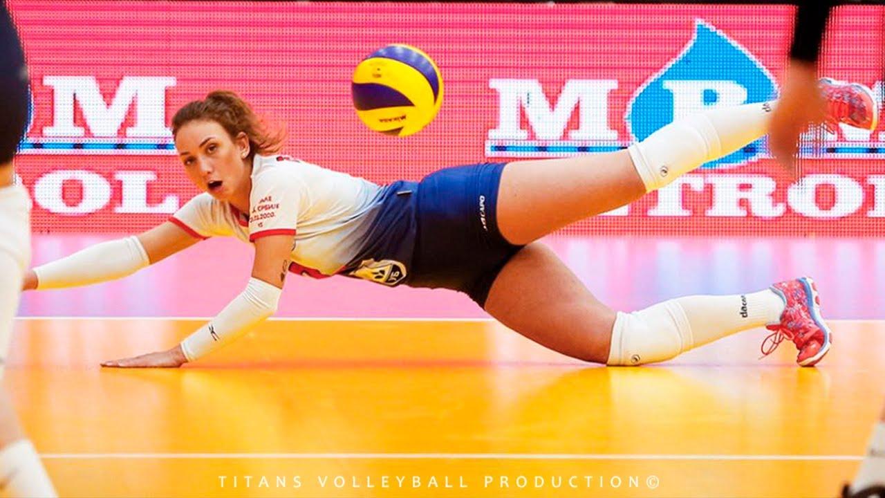 Unbelievable Volleyball Libero from Serbia - Djurdjevic Sanja | VNL 2021