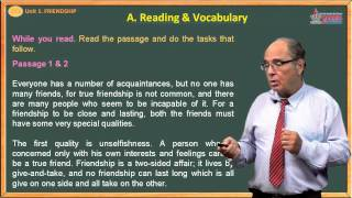Tiếng anh lớp 11 - Friendship - Reading & Vocabulary