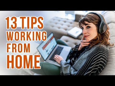13 TIPS ON WORKING FROM HOME Staying Social & Staying Active