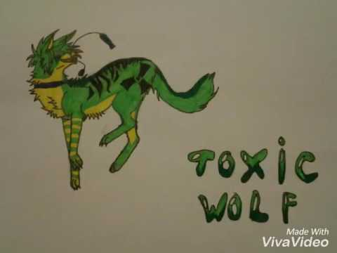 арт картинки волков