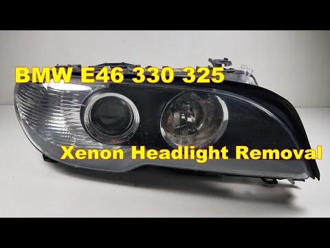 bi-xenon-adaptive-headlight-removal-04-bmw-e46-330ci-325ci