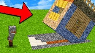 จะเกิดอะไรขึ้น!? เมื่อลุงบ้วย ได้เจอบ้าน ''หลุมใต้ดิน'' (Minecraft หลุมใต้ดิน)