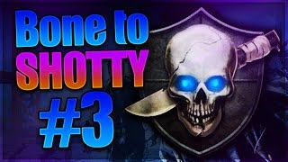 Bone to Shotguns v2 - Episode 3: Knife Rank  (Black Ops 2 Zombies How to Rank Up)