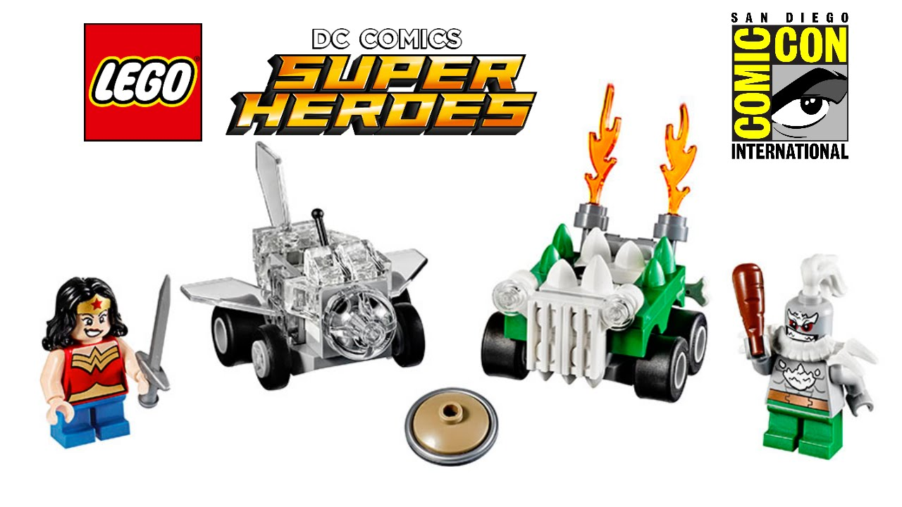 LEGO DC Super Heroes 2017 Mighty Micros sets revealed!