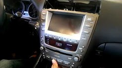 Lexus IS220D GROM VLINE 2 Android 8 1 Car Entertainment System Upgrade