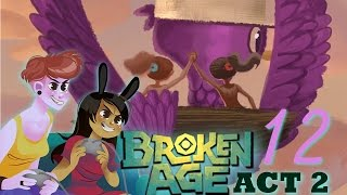 BROKEN AGE ACT 2 - 2 Girls 1 Let's Play Part 12: Nude Friendship